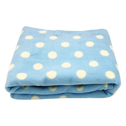 Fine Car Heating Blanket, 5V Electric Heating Blanket Fleece Travel Throw for Home Car Auto Supplies,Great Winter Warm Supplies for Home, Travel, Camping (Blue)