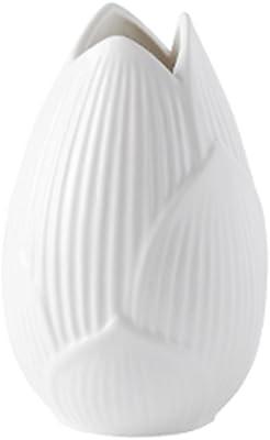 Lanburch Creative Tulips Shape Porcelain Vase Decoration for Wedding Modern Simple Ceramic Vase for Flowers Home Decor