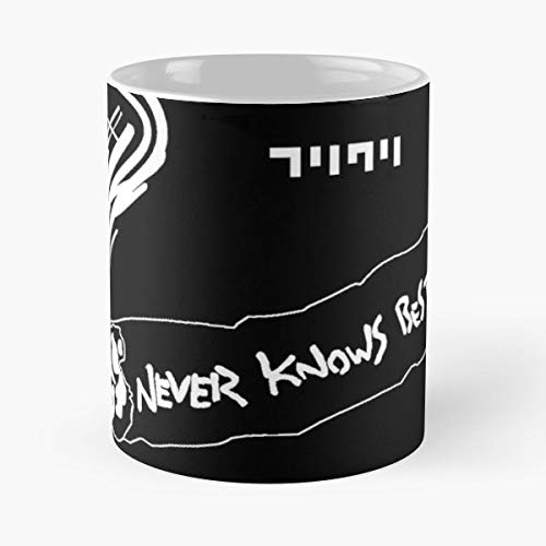 92Wear FLCL Neves Know Kuri Mamimi Cigarette Coffee Mugs Set of 4 Nicola Best 11 oz Taza De Café - Taza De Motivos De Café