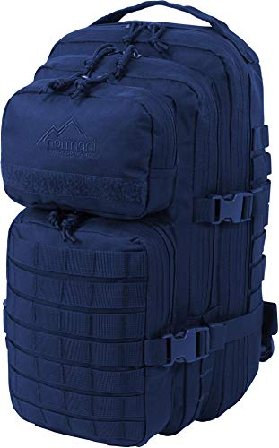 normani US Assault Pack Small, Rucksack, 25 Liter Farbe Marine