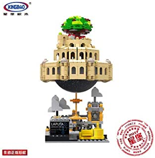 CN.Bricks Creative MOC Sky City Music Box Assembled Building Blocks Educational Toys 05001(No Original Box)