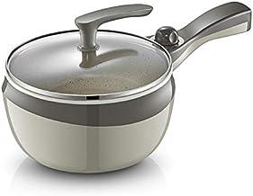 DYXYH Dortoir Étudiant électrique Wok Cooking Marmite et Hot Friture Un multi-fonction Petit Pot Mini 3 petits 1-2 Personnes