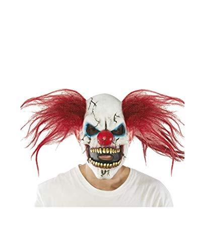 Máscara de payaso diabólica para adulto