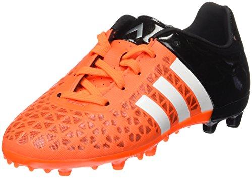 adidas Ace 15.3 FG/AG J, Scarpe da Calcio Bambino, Orange/Blanc/Noir, 36 EU