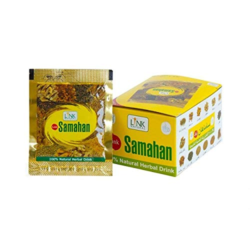 Ayurveda Herbal Samahan Ayurvedic Herbal Natural Tea Good And Effective Prevention and Relief from Colds and Symptoms of Colds, 60 Packets of 4 g