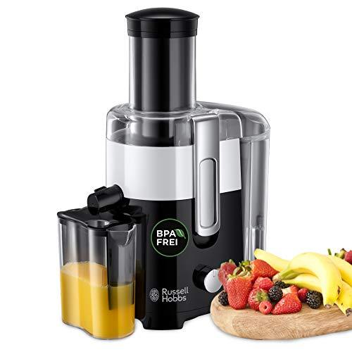 Russell Hobbs Horizon - Licuadora y Exprimidor Eléctrico (550 W, Plástico, Sin BPA, Blanco y Negro) - ref. 24741-56