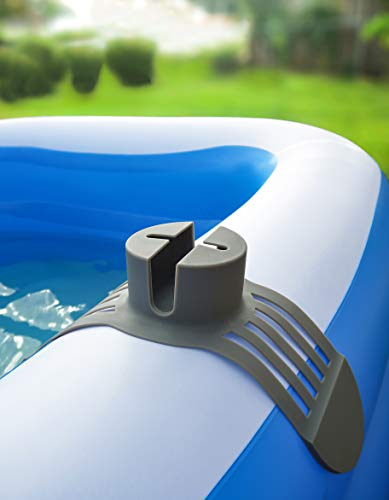 Silicone Anti-Spill Pool Drink Holder - Outdoor Cup Holder for Inflatable Pool, Above Ground Pool, Hot Tub, Jacuzzi - Multifunctional Hot Tub Accessory