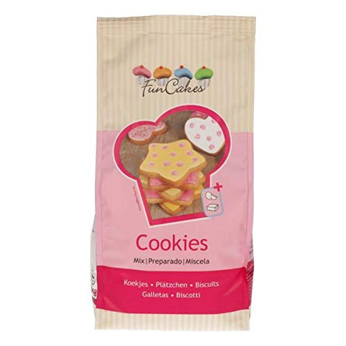 Funcakes Mix for Cookies 1 KG , Backmischung Kekse