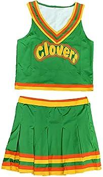 East Compton Clovers Cheerleader Uniform Bring It healon Verson  Medium