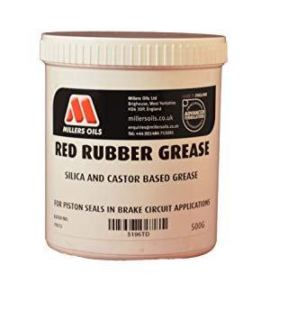 Millers Öle Rot Gummi Fett für Bremskolben Dichtungen 500g