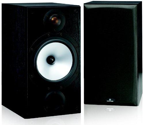 Monitor Audio MR2 100W Schwarz - Lautsprecher (1.0 Kanäle, Verkabelt, 100 W, 42-30000 Hz, 6 Ohm, Schwarz)