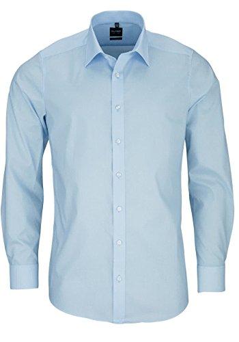 "Olymp Herren Langarm Hemd ""Level Five Body Fit"", Blau, Gr. 39"
