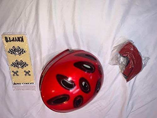 Kryptonics Signature Series Transparent Helmet Red 12 Under blast sales SM-MED YRS 2021 model