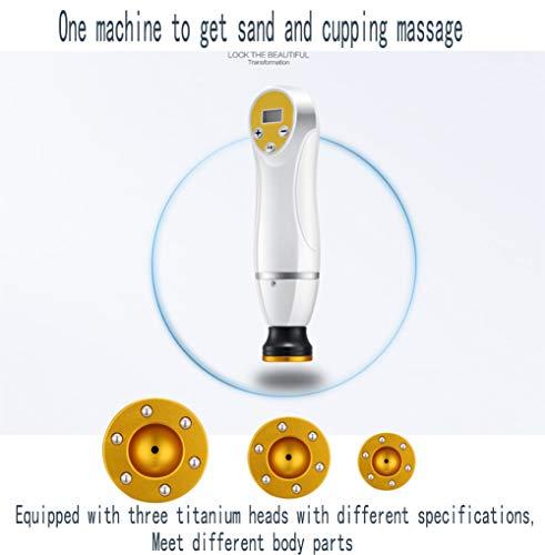 KEKE Elektrische Gua Sha Massage Verwarming Negatieve Druk Magnetische Wave Therapie Instrument Lichaam Afslanken Meridiaan voor Hot Compress Nek Schouder Dij Vacuüm Zuig Ontgifting