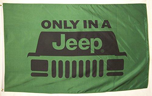 Jeep Flagge 3'x 5' Indoor Outdoor nur in ein Jeep Banner
