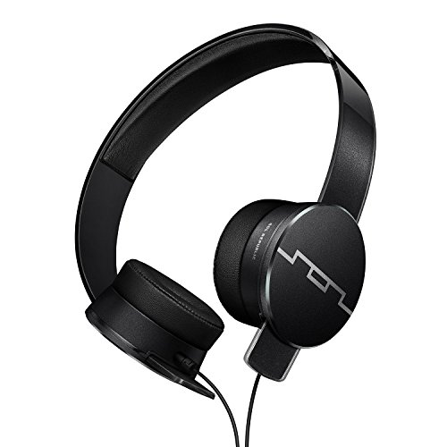 SOL REPUBLIC Tracks HD2 On-Ear Headphones – Noise Isolation, Cable with Mic + 3 button...