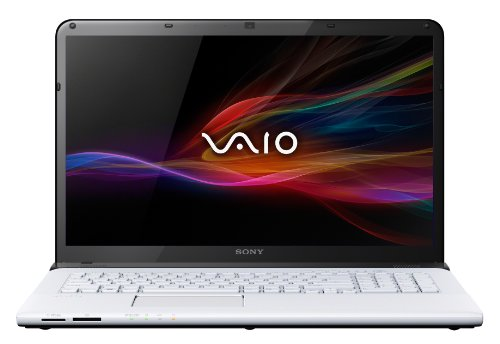 Sony VAIO SVE1713G4EW 43,9 cm (17,3 Zoll) Notebook (Intel Core i5 3230M, 2,6GHz, 8GB RAM, 750GB HDD, AMD HD 7650M (2GB), Blu-ray, Win 8) weiß