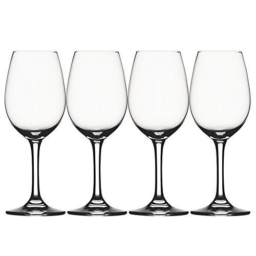 Spiegelau & Nachtmann, 4-teiliges Weißweinglas-Set, Kristallglas, 281 ml, Festival, 4020274