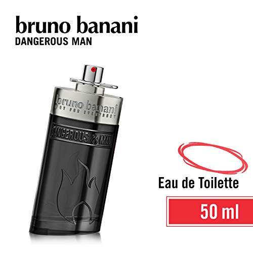 COTY BEAUTY GERMANY GMBH Bruno banani dangerous man - eau de toilette natural spray - unwiderstehlich-aufregendes herren parfüm - 1er pack 1 x 50ml