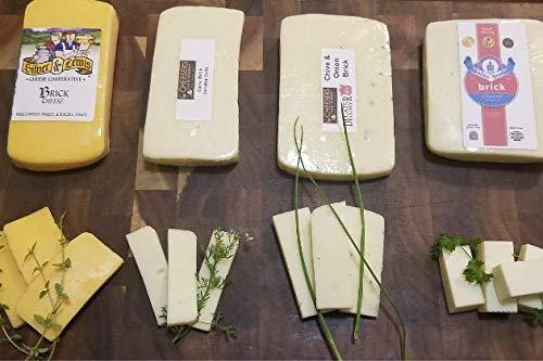 Wisconsin Brick Cheese Sampler (2lbs)