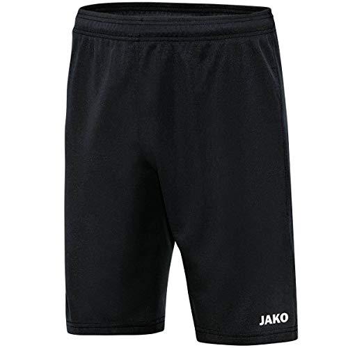 JAKO Deporte Profesional Entrenamiento Pantalón Corto, Todo el año, Infantil, Color Negro, tamaño 140