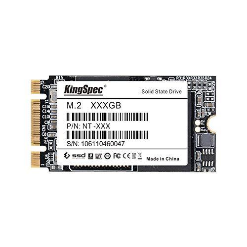 『KingSpec 256GB 2242 M.2 SATA 3D TLC キャッシュ搭載 Thinkpad X240 X240s X250 専用 SSD ハードディスク』のトップ画像