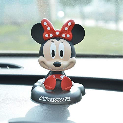pluche dieren speelgoed,Bubble-head Action Figure Poppen Speelgoedauto-decoratie Leuke Kindercadeaus Taartdecoratie Speelgoed 11cm Wit