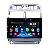 NBVNBV 2G+32G Android 9 DSP Radio de Coche Reproductor de Video Multimedia para P-eugeot 307 307CC 307SW 2002-2013 GPS de Navegación 2 DIN DVD,1g Mic