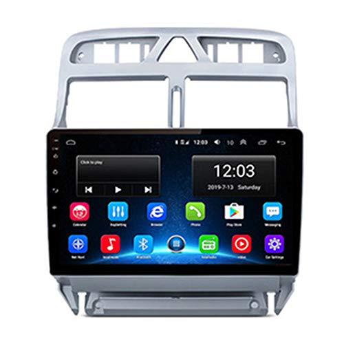 "NBVNBV GPS Navigation 9"" HD Touchscreen Autoradio Auto Multimedia- System Fit für P-eugeot 307 307CC 307SW 2002-2013 Karten Rückfahrkamera,1g cam"