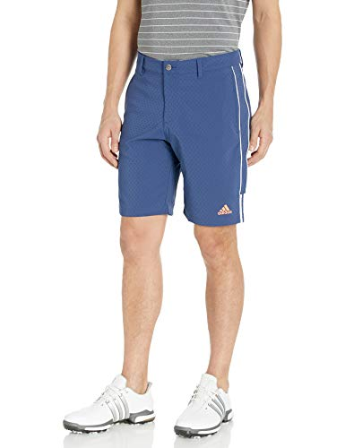 adidas Herren 3-Stripes Collection Dobby Shorts, Tech Indigo, 34