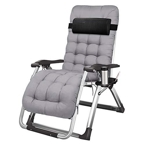 Klappbarer Klappstuhl Liegestuhl, Einzelbalkon Klappstuhl im Freien Mittagspause Stuhl Office Home Tragbarer Rückenstuhl Strandkorb