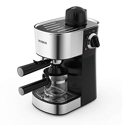 MYYINGELE Professional Kaffeemaschine, Mini-Kaffeemaschine für kleine Haushalte, kommerzielle Kaffeemaschine Vollautomatische Dampfkaffeemaschine, Cappuccino