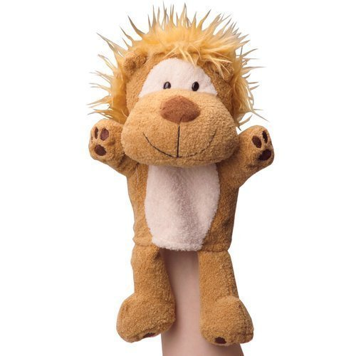 Constructive Playthings CP Toys Forest Friends Plush Hand Puppet Lion