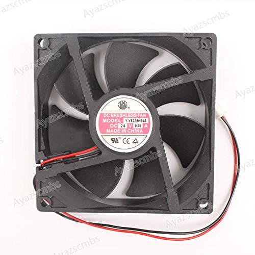 Ayazscmbs enfriamiento Ventilador Compatible para YY9225H24S ...