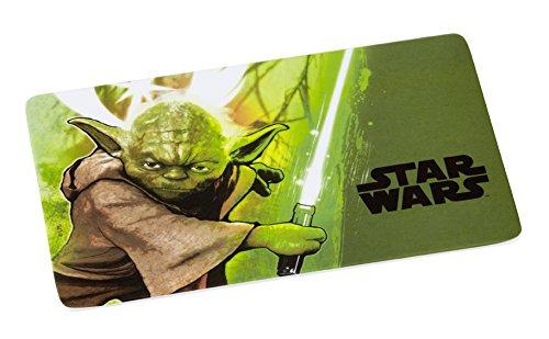 Gedalabels 12200 Star Wars - Yoda Planche à découper Mélamine Multicolore 23.5 x 14 x 1 cm