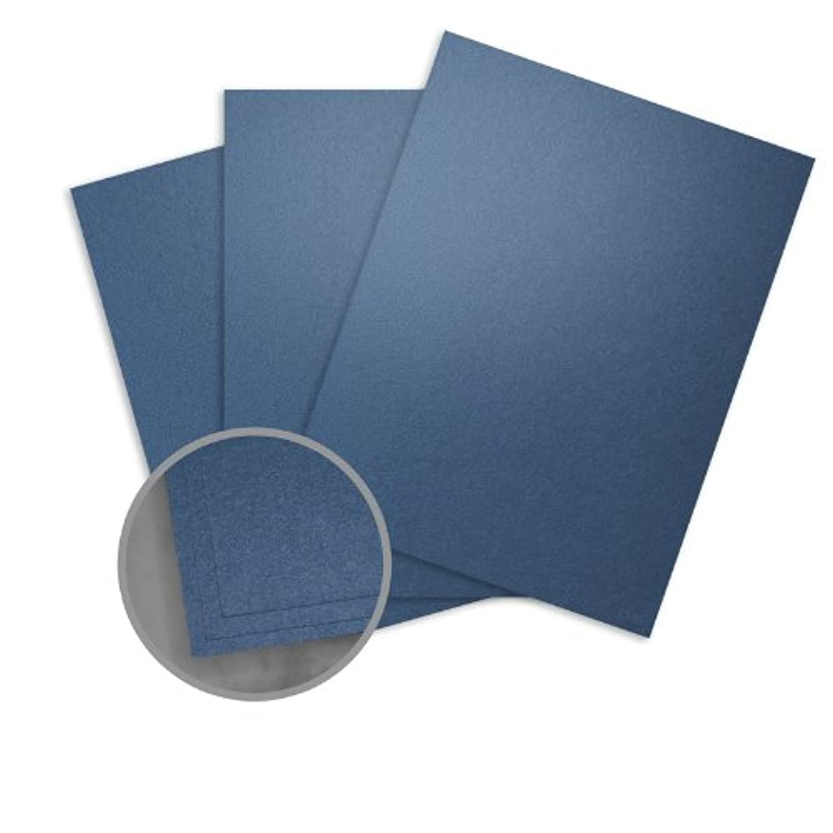 Stardream Sapphire Card Stock - 12 x 12 in 105 lb Cover Metallic C/2S 100 per Package