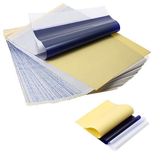 LifeBasis 50 feuilles de papier de transfert de tatouage papier Copieur Thermique