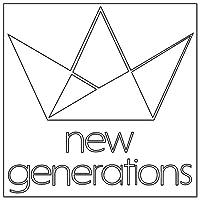 new generations カッティングステッカー〈S〉白