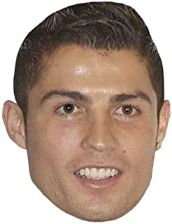 Cristiano Ronaldo Celebrity Mask, Card Face and Fancy Dress Mask