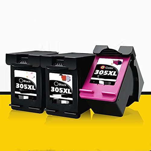 ESORST Reemplazo Compatible con HP 305 HP 305 XL Cartucho de Tinta para HP 1210 2300 2720 4120 6010 6420 6430 6452 6464 6475 Impresora (Color : 3 PCS)