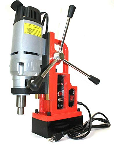 Best Price 1350W Magnetic Core Drill Press Machine 1 Boring 3372 LBS Magnet Force MT2 MT3