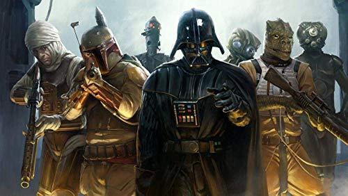 1000 piezas de rompecabezas, rompecabezas de juguete de bricolaje, increíble juego de rompecabezas, póster de película de Star Wars Darth Vader, juguete educativo de descompresión para niños adul