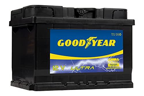 Goodyear GODF260 - Bateria de coche ULTRA 12 V 60 Ah 550 A (+D), 500 A