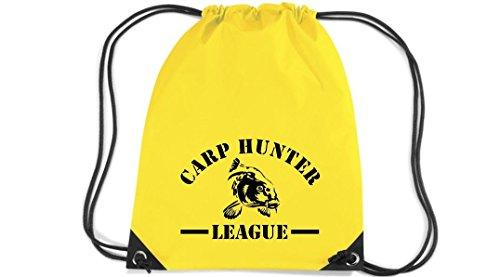 Camiseta stown Premium gymsac carphun Ting League Pesca, color Amarillo - amarillo,...