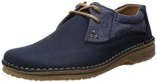 Birkenstock Schuhe ''Memphis'' in dunkelblau aus Leder/Textil in Größe 42.0 S EU mit schmalem Fussbett Artikel-Nr. 406663