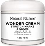 Natural Riches Stretch Marks & Scar Removal Cream, from Natural Riches - Natural, Reduces the Appearances of Stretch Marks and scars - 4 oz