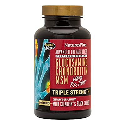 Advanced Therapeutics, Glucosamine Chondroitin MSM, Ultra Rx-Joint, Triple Strength, 120 Tablets