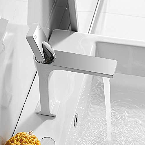 Schwarz Bad Einhebelmischer Warmwasser Kaltschalter Armaturen Mischbatterien Waschbecken Badabdeckung Aufgesetzte Waschtischarmatur