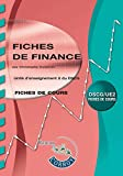 Fiches de finance - UE 2 du DSCG