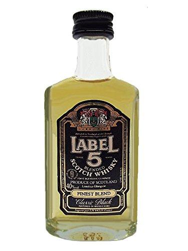 Label 5 Classic Black Blended Scotch Whisky 0,1 Liter